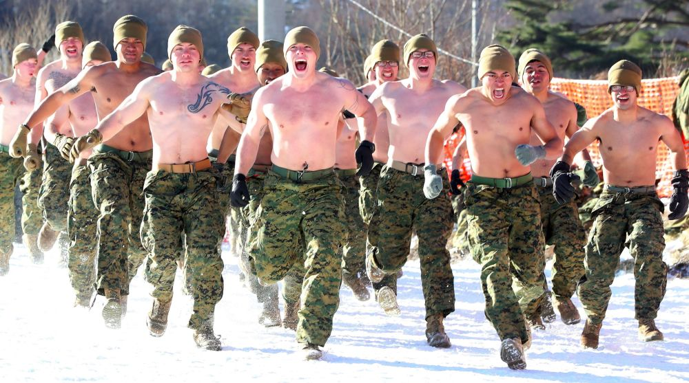 W ćwiczeniach bierze udział ponad 220 południowokoreańskich żołnierzy piechoty morskiej i około 220 wojskowych z USA, rozlokowanych na japońskiej wyspie Okinawa.
