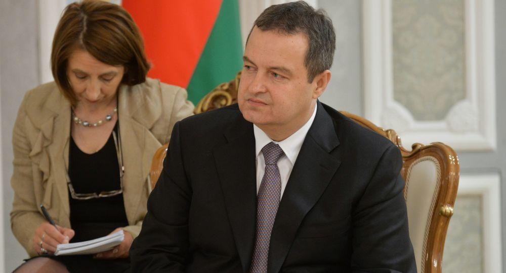 Przewodniczący OBWE Ivica Dacić