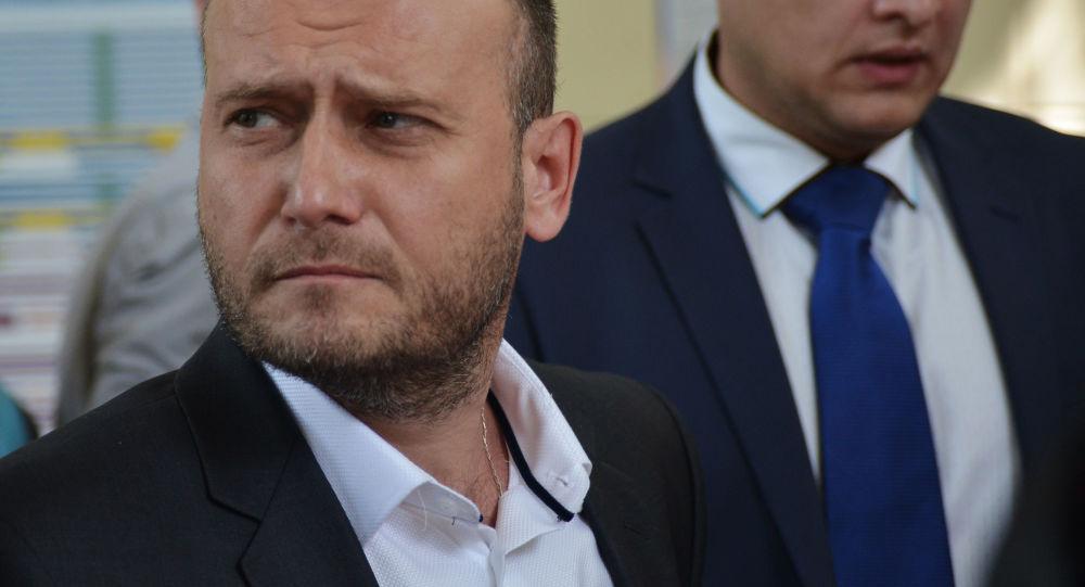 Lider Prawego Sektora Dmitrij Jarosz