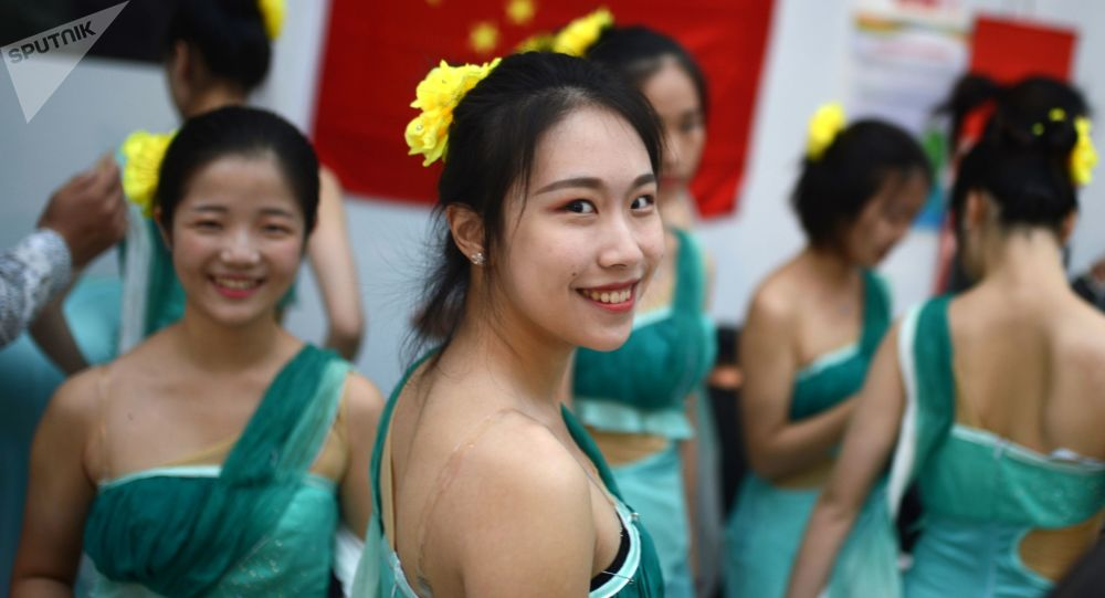 Chinki na Festiwalu Młodzieży w Soczi