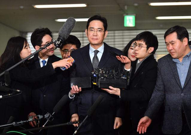 Szef Samsung Electronics Jay Y. Lee