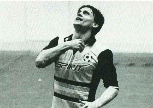 Piłkarz Stanisław Terlecki