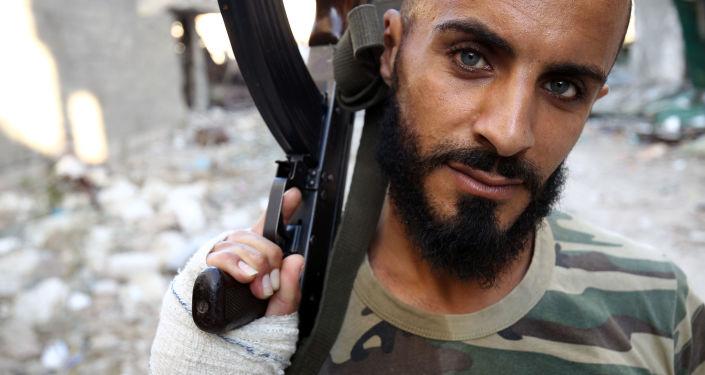Żołnierz libijskiej armii