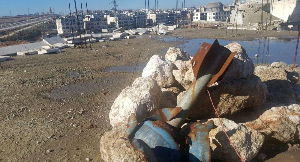 Pociski w wyzwolonym z rąk terrorystów rejonie w Syrii