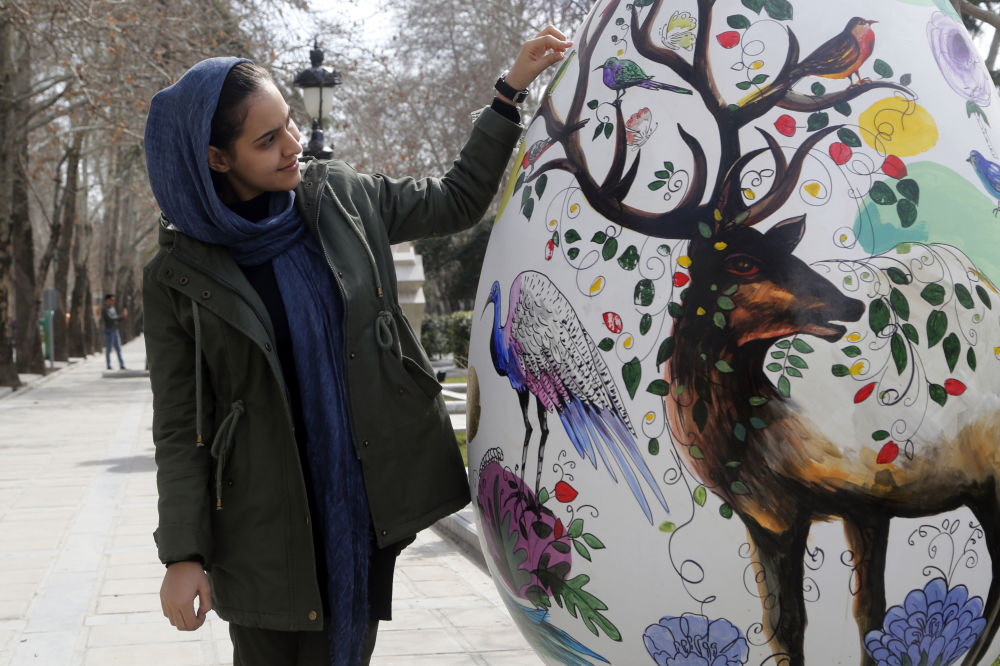 Nouruz, czyli irański nowy rok, obchodzi się w marcu.