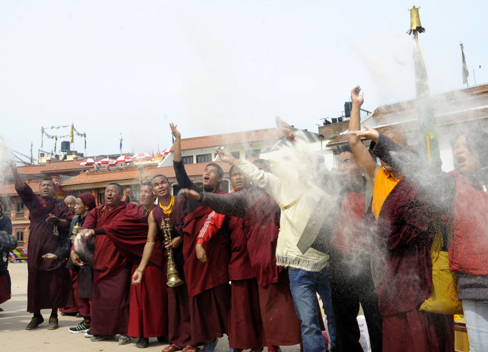 Losar, czyli tybetański Nowy Rok, wypada w okresie między styczniem a marcem.