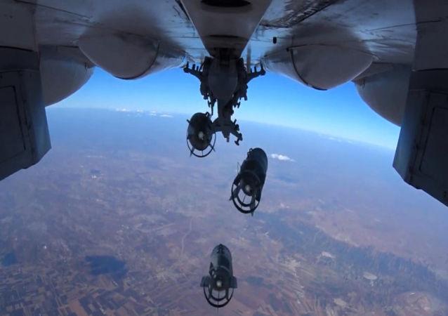 Precyzyjny nalot Sił Powietrzno-Kosmicznych Rosji