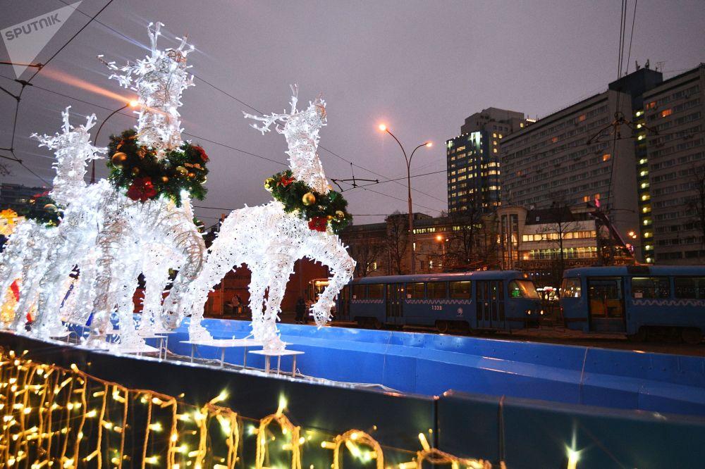 Świąteczne tramwaje będą czynne do 9 stycznia.