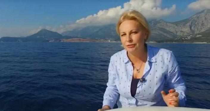 Korespondentka WGTRK Olga Kurłajewa