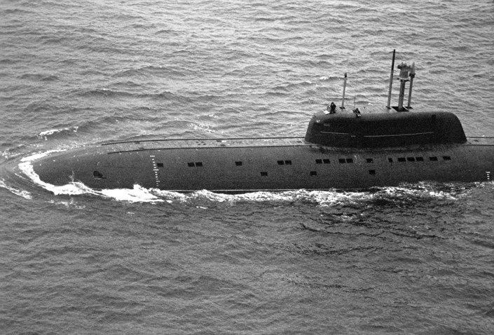 """Radziecki atomowy okręt podwodny projektu 945 """"Barrakuda"""""""