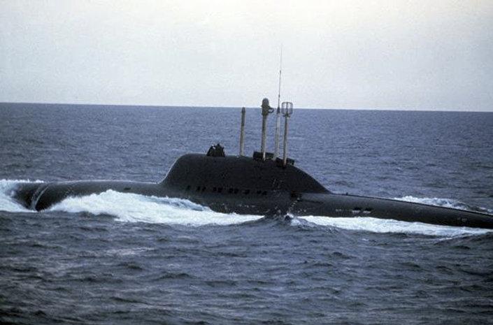 "Torpedowy okręt podwodny projektu 705 ""Lira"""