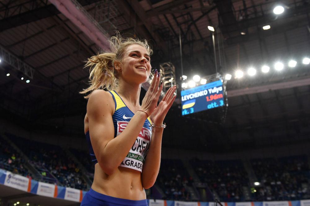 Ukraińska lekkoatletka Julija Łewczenko