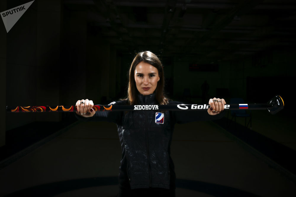 Anna Sidorowa, rosyjska curlerka