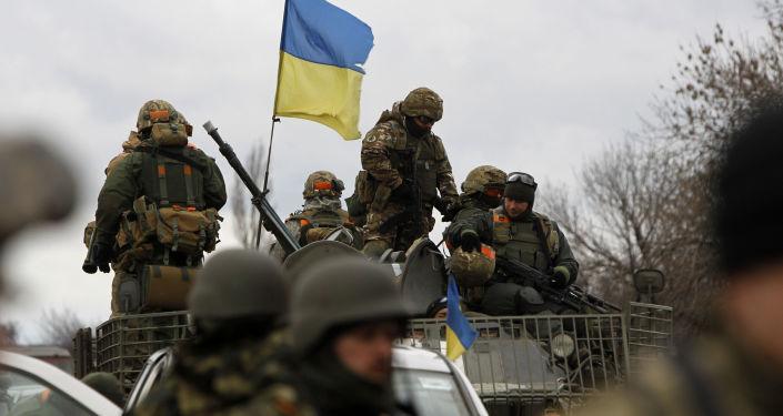 Ukraińska armia w obwodzie donieckim