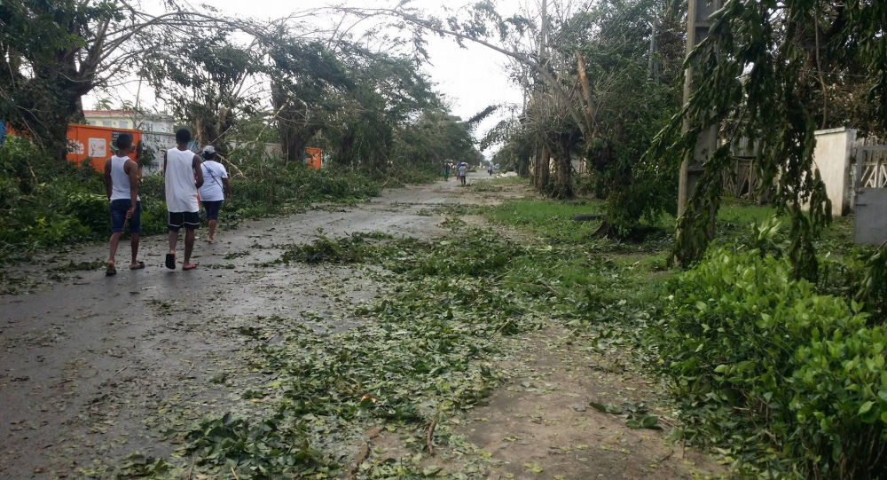 "Skutki cyklonu ""Ava"" na Madagaskarze"