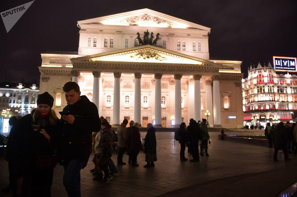 Teatr Wielki w Moskwie, 2017 rok