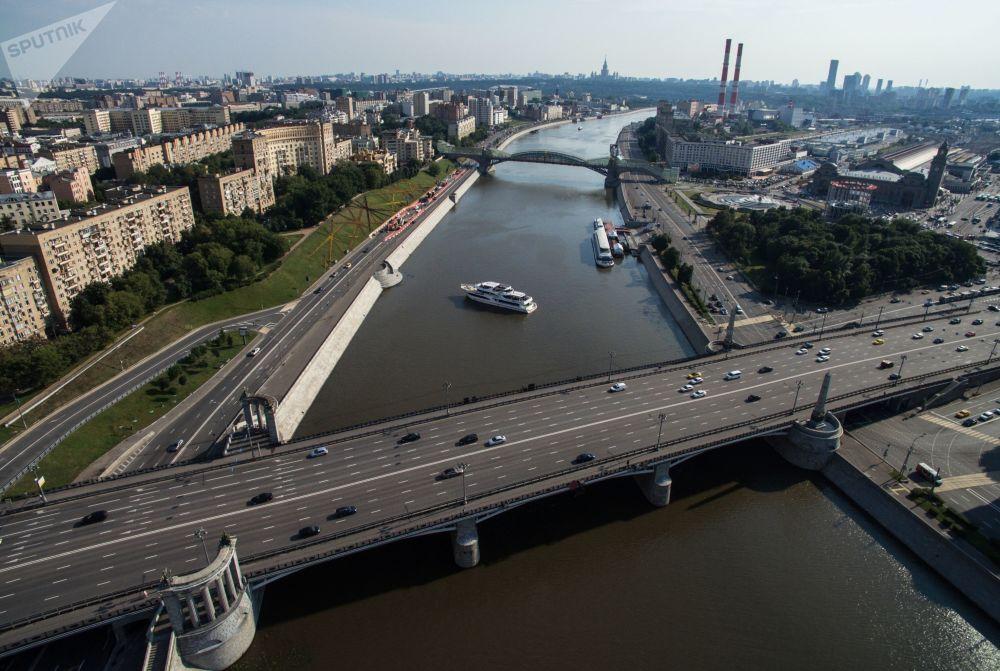 Most Borodiński w Moskwie, 2016 rok