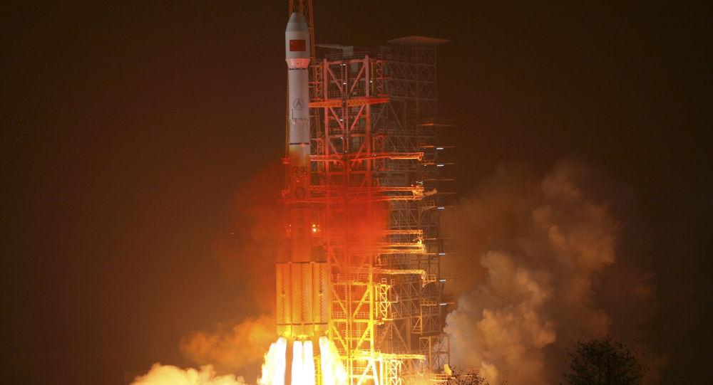 Wystrzelenie rakiety nośnej Long March-3III z satelitą chińskiego globalnego systemu nawigacyjnego Beidou
