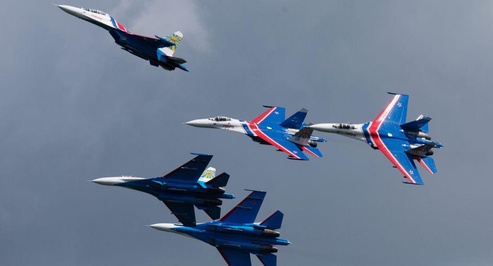 Zespół akrobacyjny sił powietrznych Rosji Russkije Witjazi
