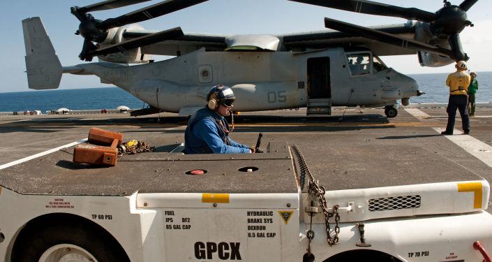 Osprey na okręcie USS Wasp