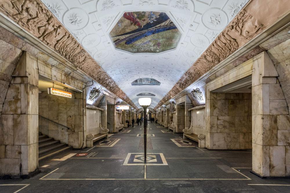 Stacja moskiewskiego metra Nowokuznieckaja