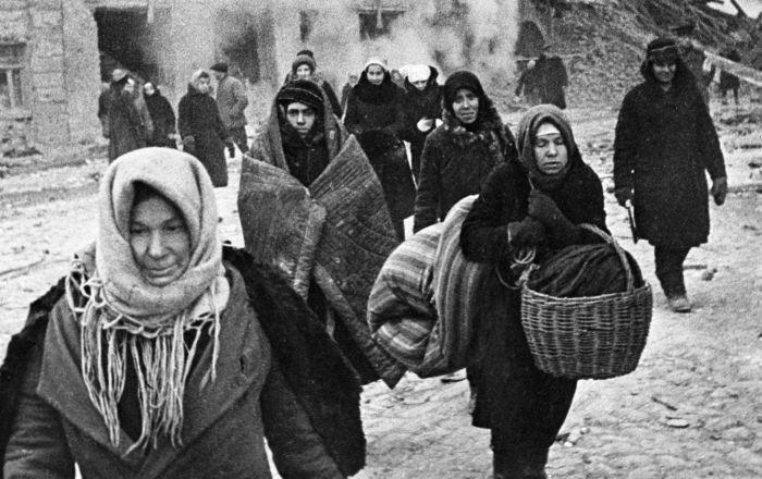 Mieszkańcy oblężonego Leningradu