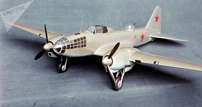 Model samolotu Ił-4