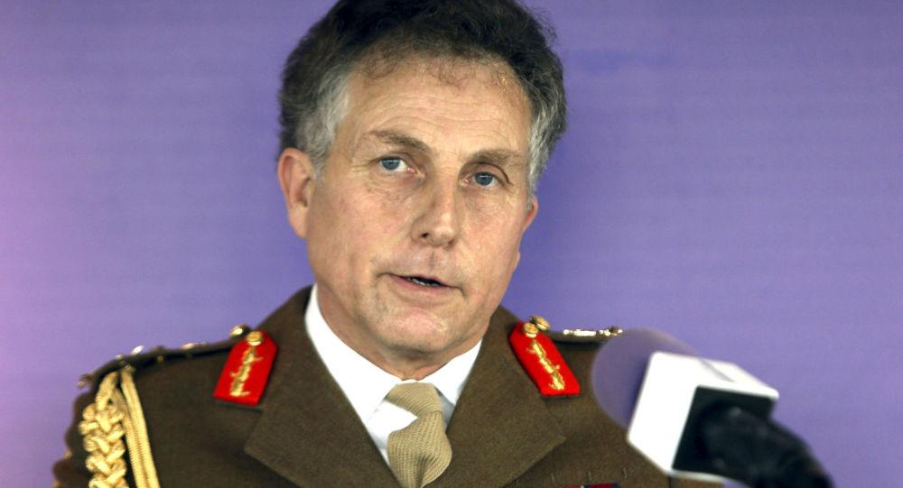 Szef Sztabu Generalnego Sił Zbrojnych Wielkiej Brytanii generał Nicholas Carter