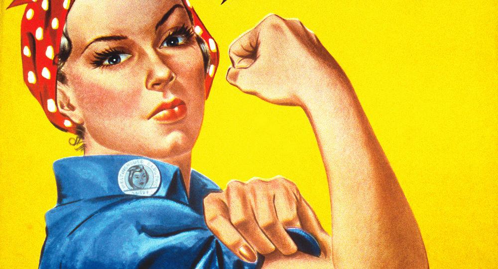 Plakat propagandowy We Can Do It! z okresu II wojny światowej