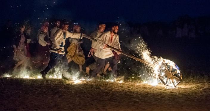 Festiwal etniczny w obwodzie omskim