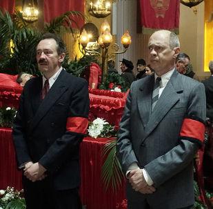 Kadr z filmu Śmierć Stalina