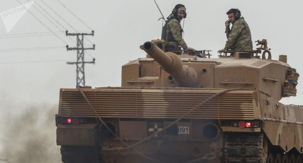 Turecka operacja w Afrinie