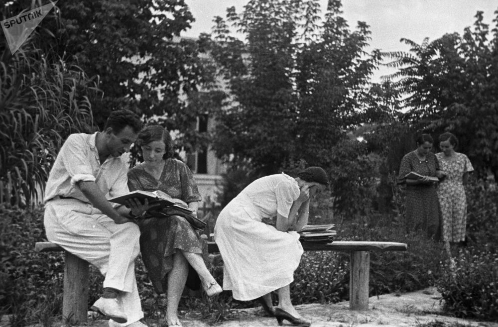 Rosyjscy studenci w ZSRR i dziś, 1939 rok
