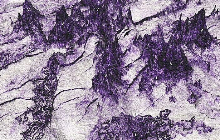 """Geolodzy znaleźli w pobliżu wybrzeża Australii obszar podwodnych wulkanów przypominający Mordor z """"Władcy Pierścieni"""" J. R. R. Tolkiena"""