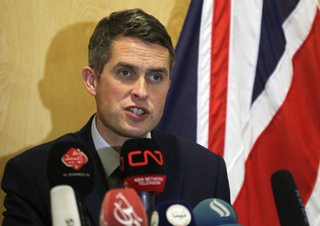 Minister obrony Wielkiej Brytanii Gavin Williamson