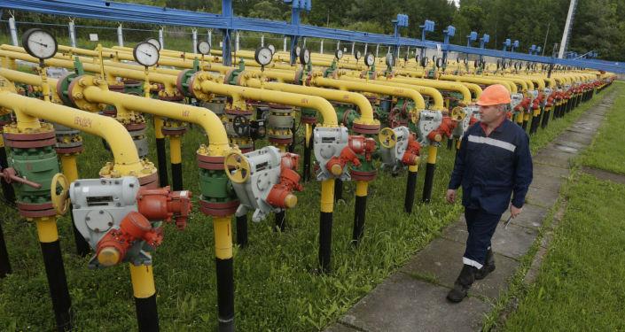 Magazyn gazu pod Lwowem
