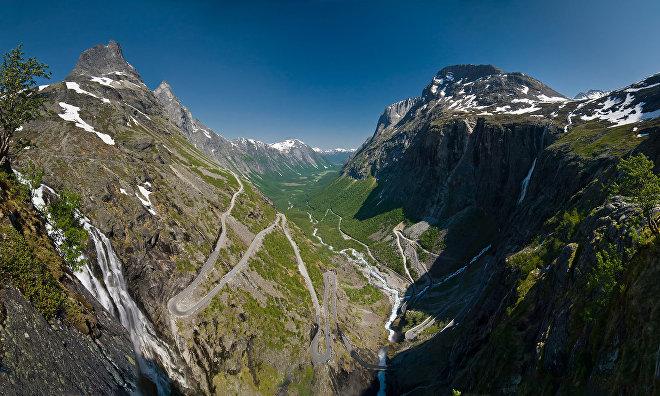 Droga Trolli w Norwegii