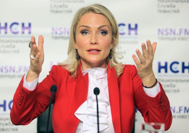 Działaczka społeczna, dziennikarka Jekaterina Gordon