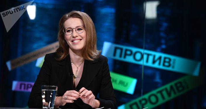 Prezenterka telewizyjna, kandydatka w wyborach prezydenckich Ksenia Sobczak