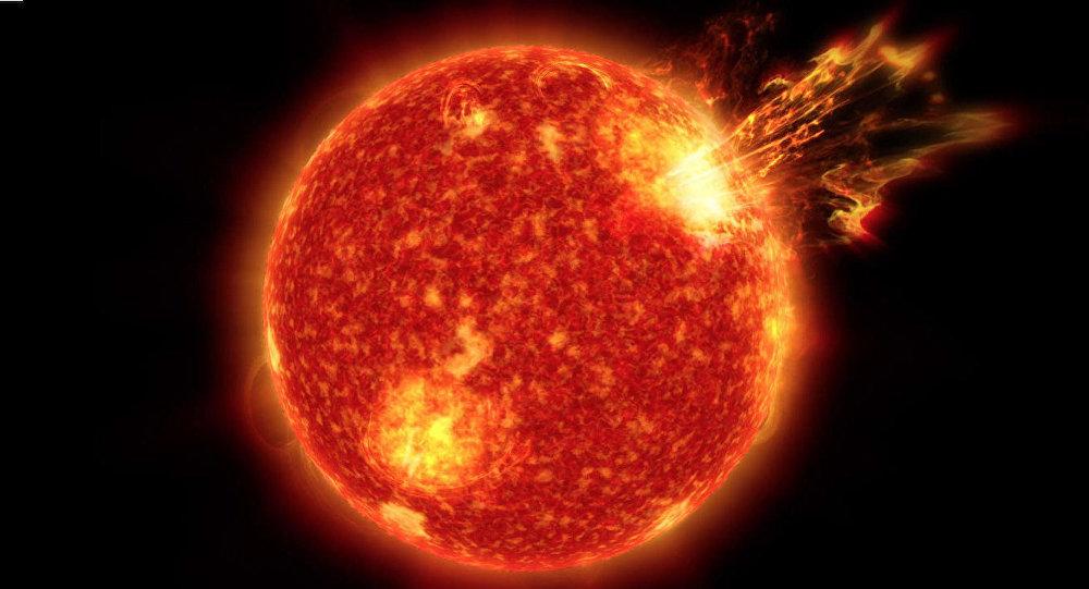 Wybuchy na Słońcu