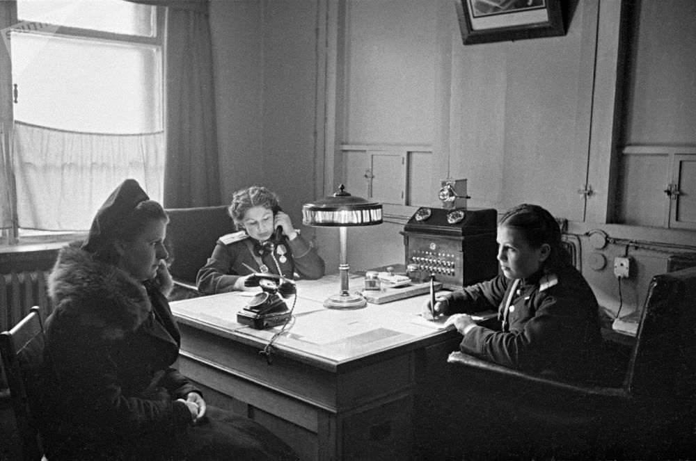 Oddział moskiewskiej policji, 1950 rok