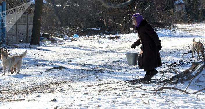 Kijów odciął ŁRL wodę