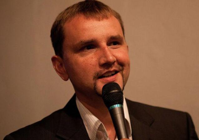 Szef ukraińskiego IPN Wołodymyr Wiatrowycz