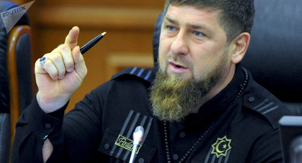 Lider Republiki Czeczeńskiej Ramzan Kadyrow