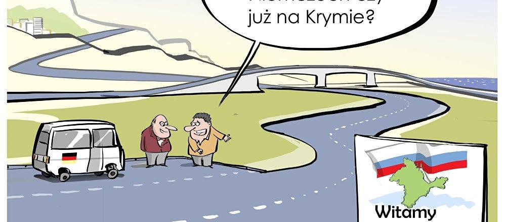 Niemieccy parlamentarzyści na Krymie