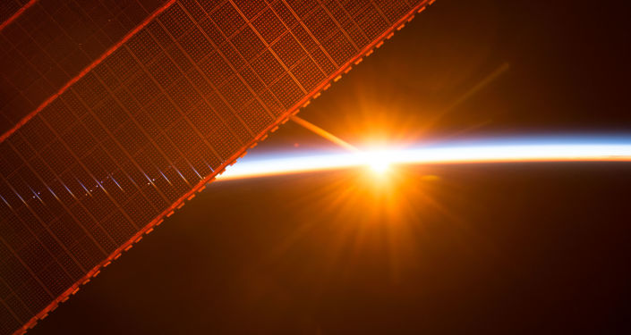 Widok na wschód słońca z MSK