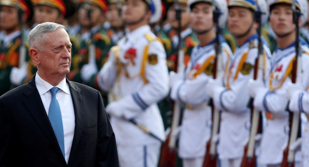 Minister obrony USA James Mattis w Hanoi, Wietnam