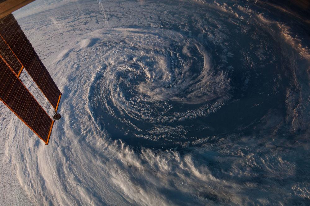Zdjęcie Ziemi z pokładu MSK