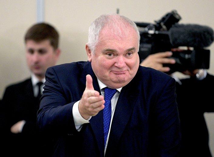 Główny dyrektor wykonawczy Nord Stream AG Matthias Warnig