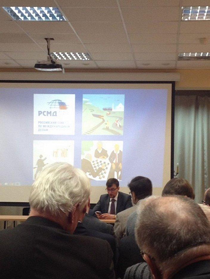 Spotkanie z przedstawicielem Rady do spraw Międzynarodowych Panem Iwanem Tomofeevem